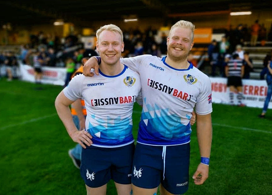 Kalle Valimaki was Finland's latest rugby player of the year. Photo: Supplied