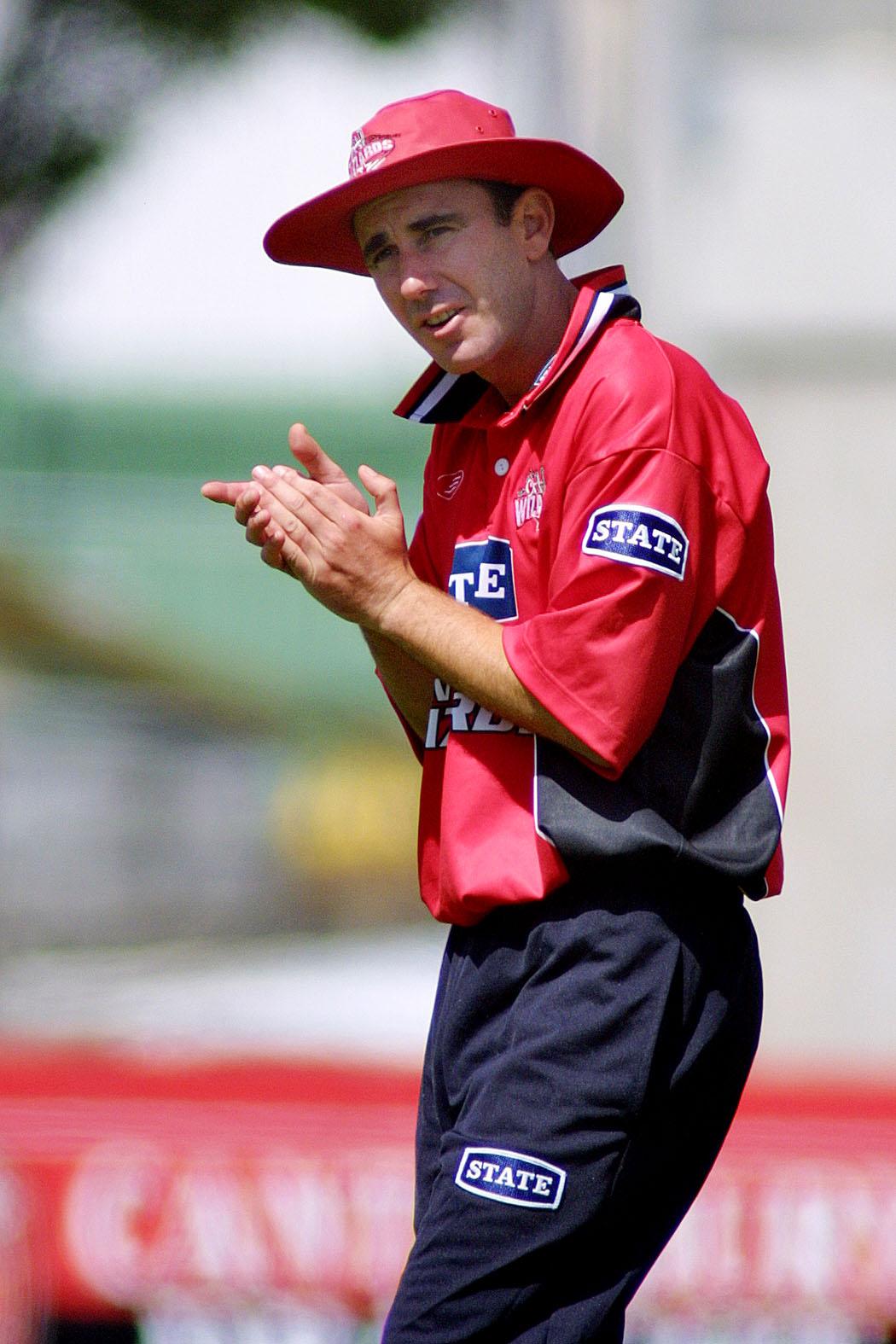 Gary Stead during his tenure as Canterbury captain in 2002. Photo: Geoff Sloan