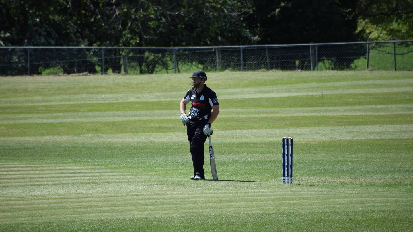 Ryan Ellis plays for Cheviot who lost to Leeston-Southbridge at the weekend. Photo: Supplied via NZH