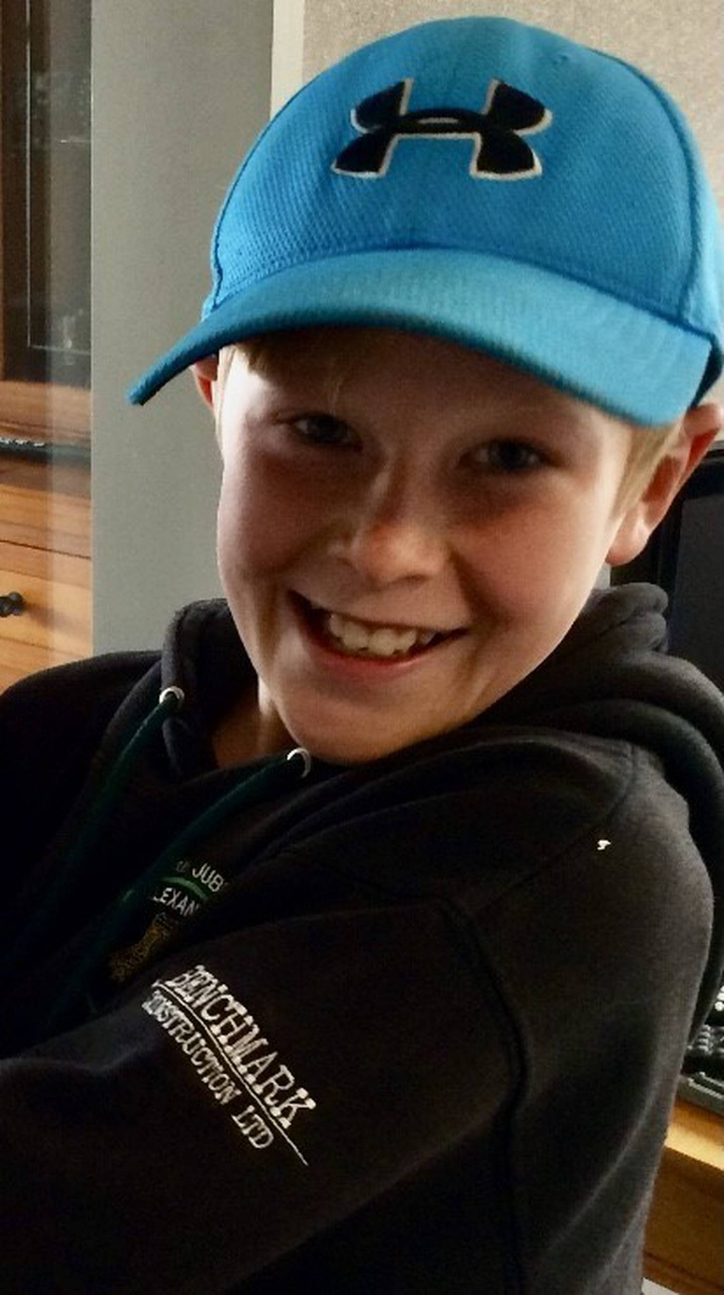 Jesse Samuel died from carbon monoxide poisoning in a gas-powered shower. Photo: Supplied