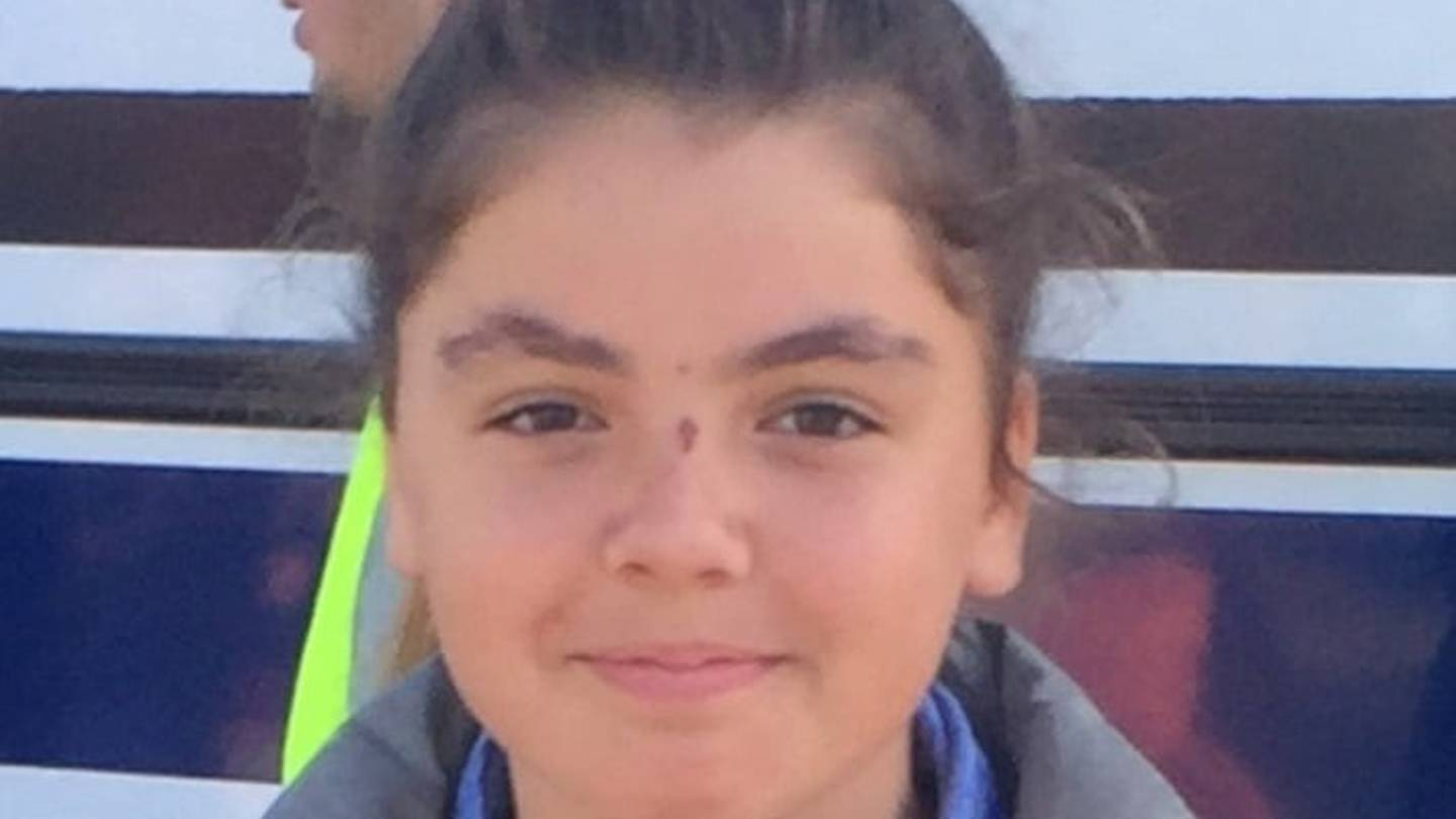 Brianna, 14, is also missing in the Christchurch area. Photo: Supplied