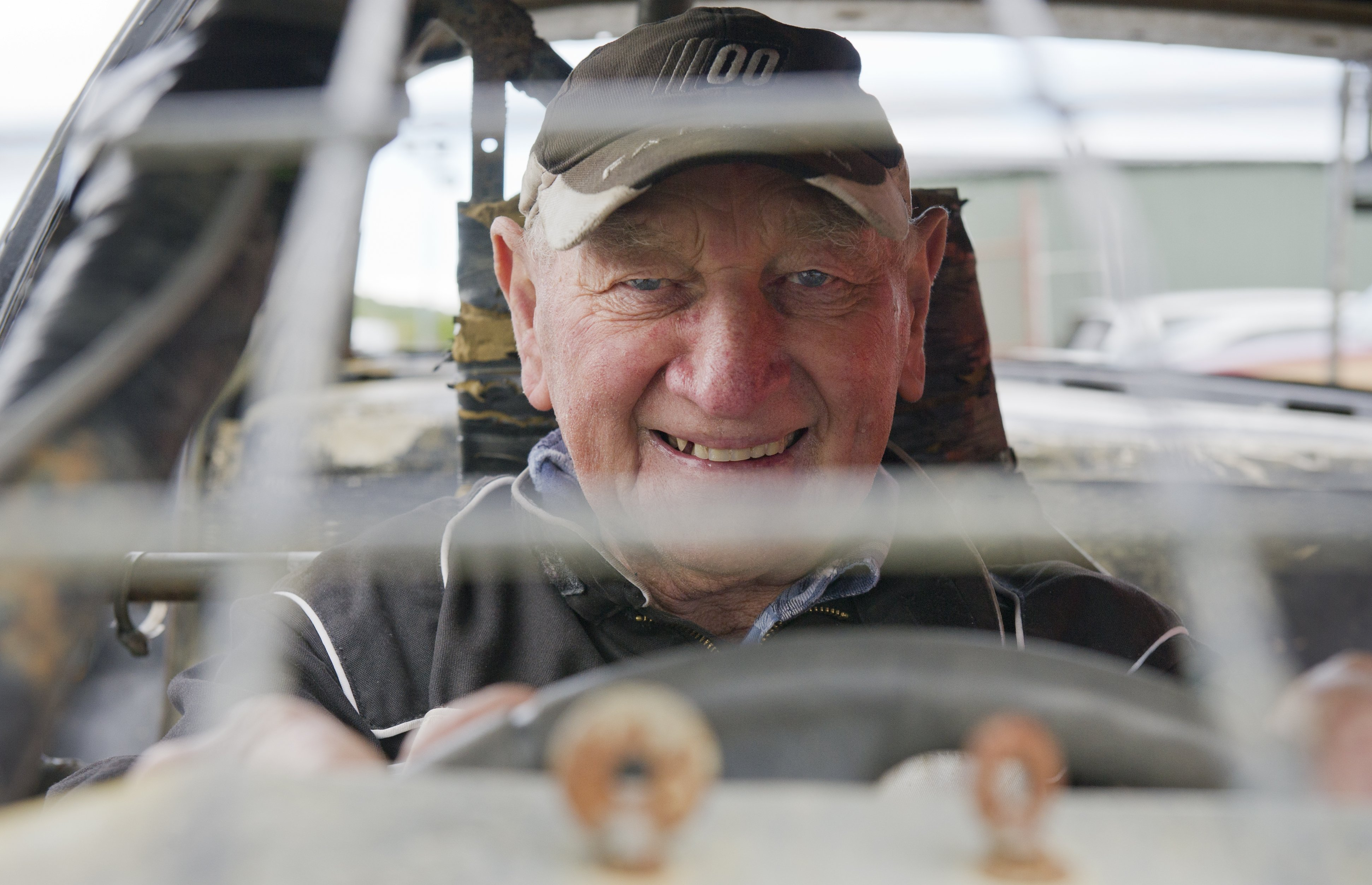 At 81 years old Allan Kirk, of Timaru, was the oldest competitor at Beachlands Speedway's first...