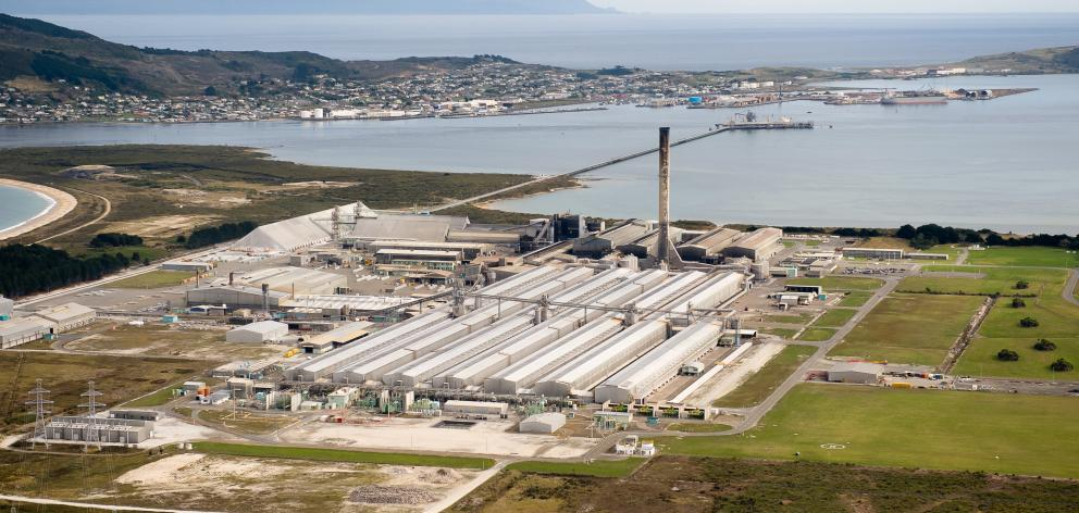 The Tiwai Point aluminium smelter in Southland could close in August 2021, although its...