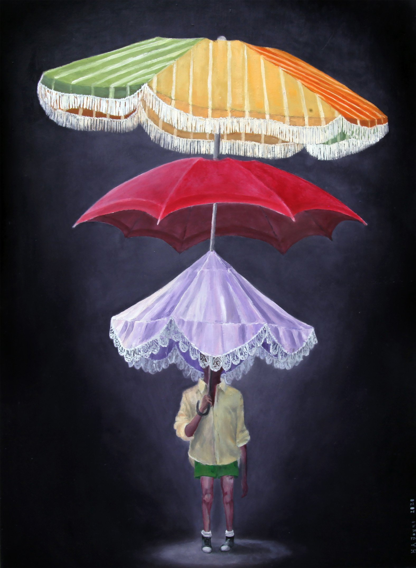 Umbrella for a  changing climate, by Hannah Joynt.  PHOTO: SUPPLIED