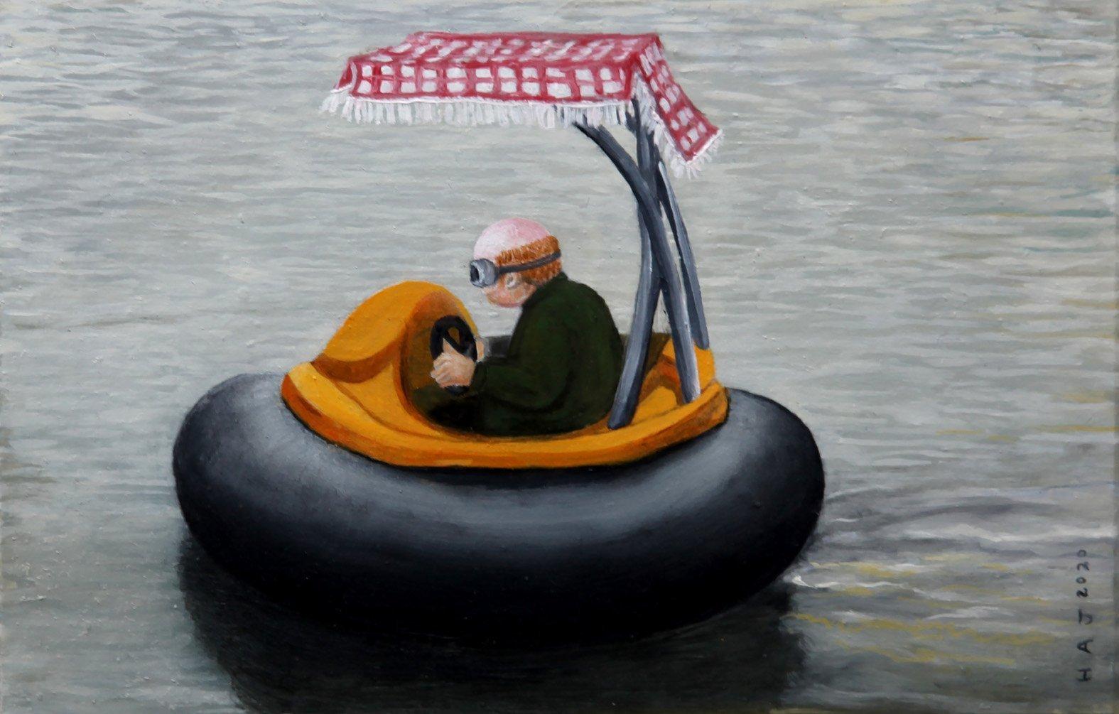 The boatman, by Hannah Joynt. PHOTO: SUPPLIED