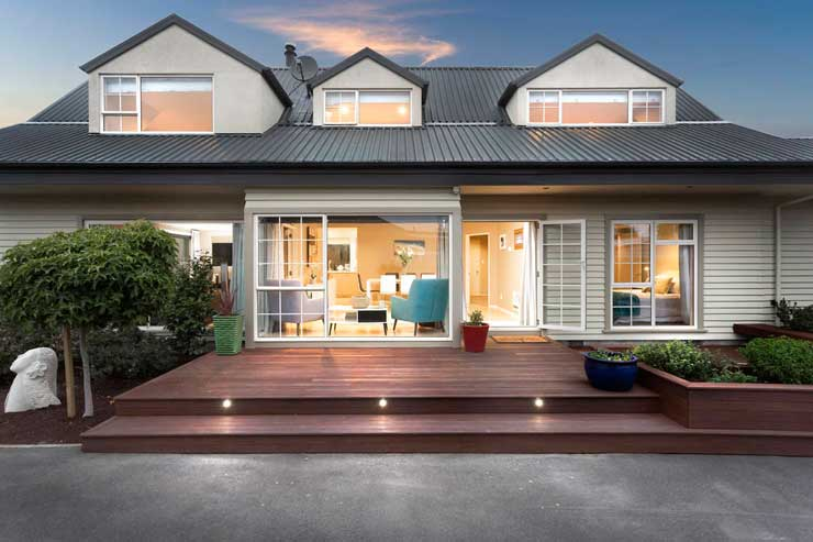 214 Estuary Road, in New Brighton, Canterbury, sold for $800,000 at auction. Photo: Supplied