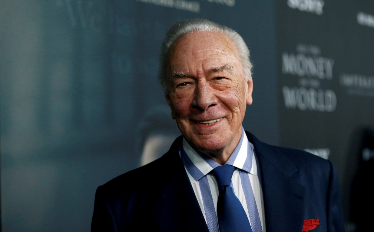 Christopher Plummer in 2017. Photo: Reuters
