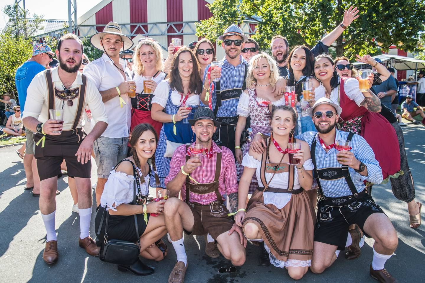 The annual Marchfest beer festival at Founders Park is a relaxed family event. Photo: Supplied