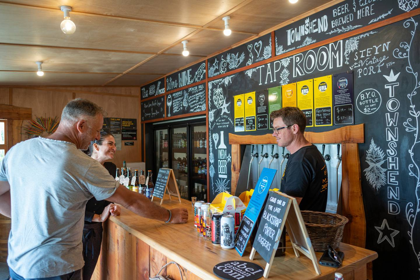 Townshend Brewery is set inside Toad Hall in Motueka. Photo: Supplied