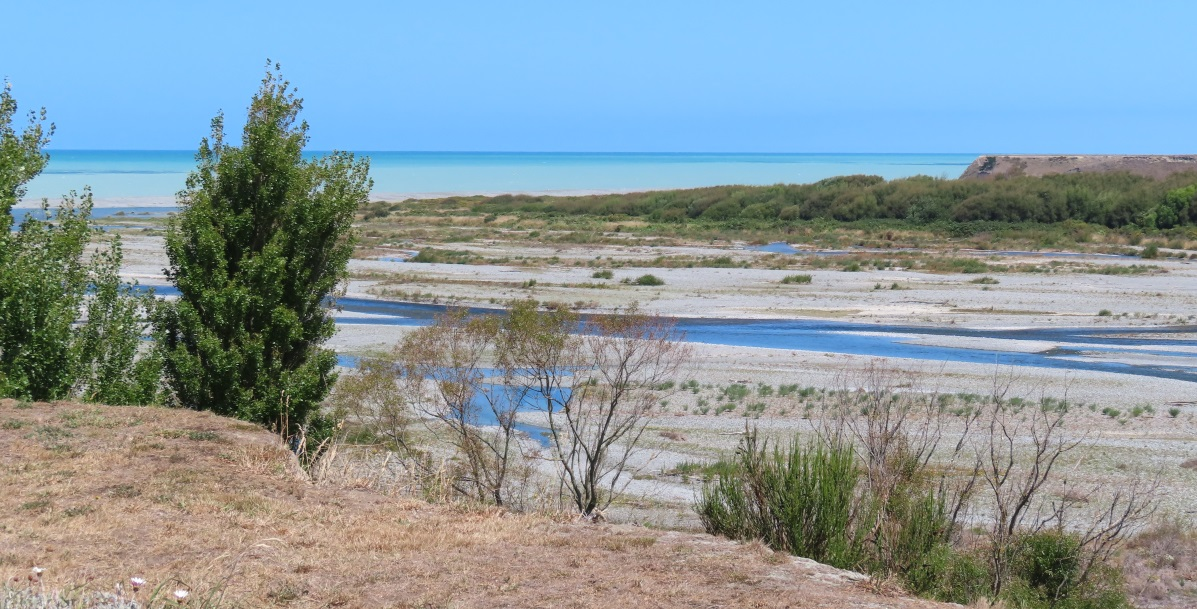 The Ashburton River as it nears the mouth. Photo: Supplied