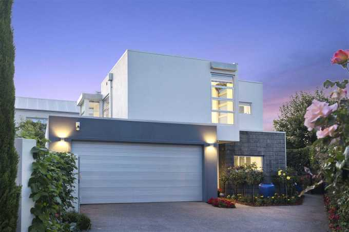 3a Church Lane, in Merivale, Christchurch, sold for $1.315 million under the hammer. Photo: Supplied