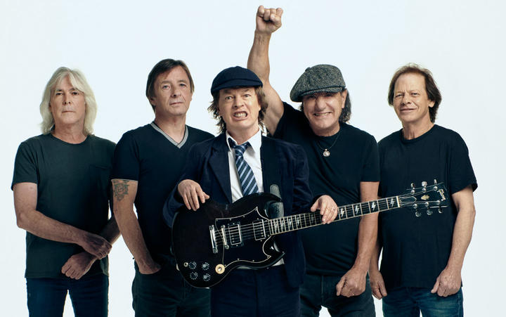 Douglas worked as a roadie for AC/DC in the 1970s. Photo: Sony Music