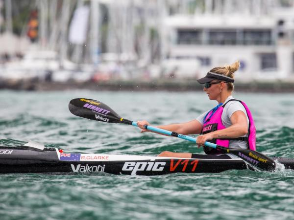 Clarke has won Auckland's Queen of the Harbour title for the past nine years. Photo: Georgia...