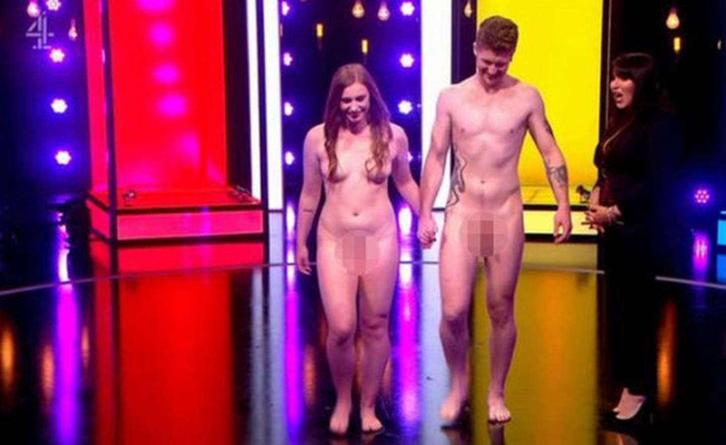 Contestants strip off in the hope of finding a date. Photo: Channel 4