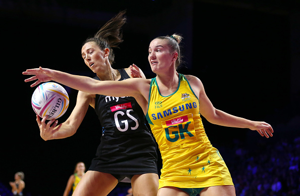 Silver Ferns shooter Bailey Mes will be back in black. Photo: Getty Images
