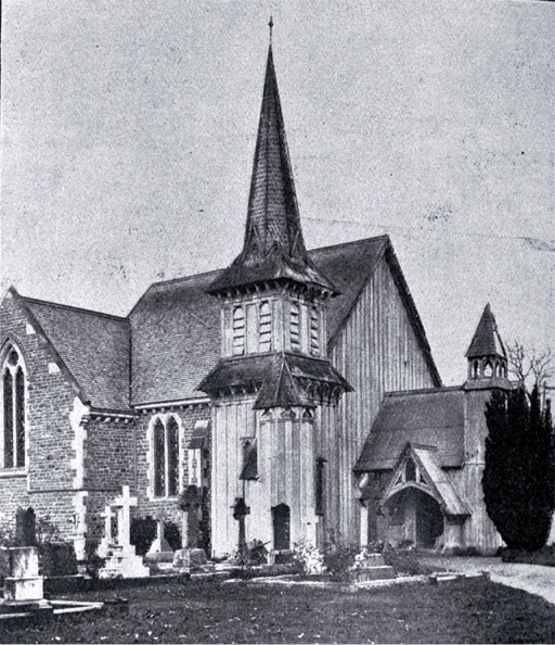 St Peter's Anglican Church in 1928. Photo: Supplied
