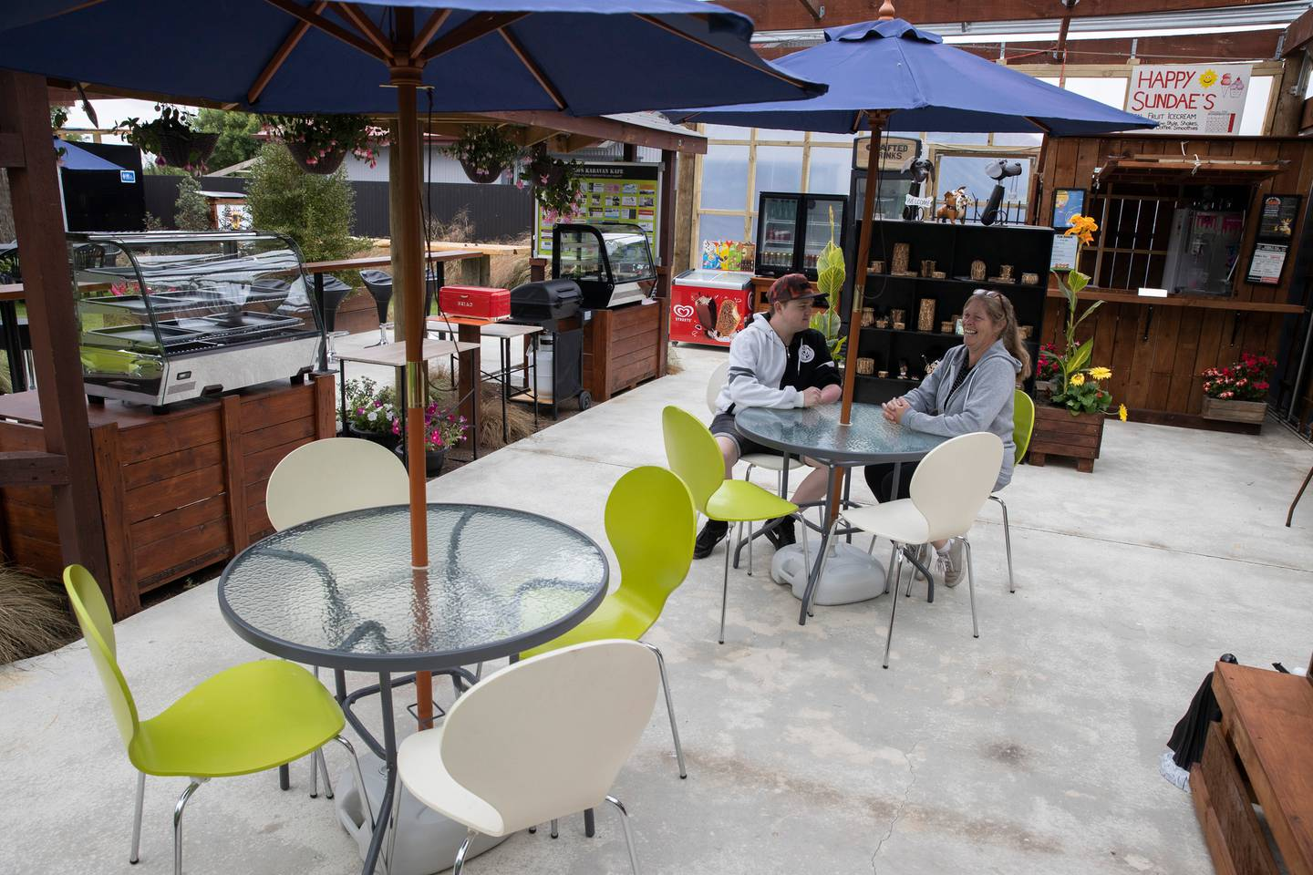 Family business ZOFS has reopened in Mayfield, Canterbury, with Jack's new real-fruit ice-cream...