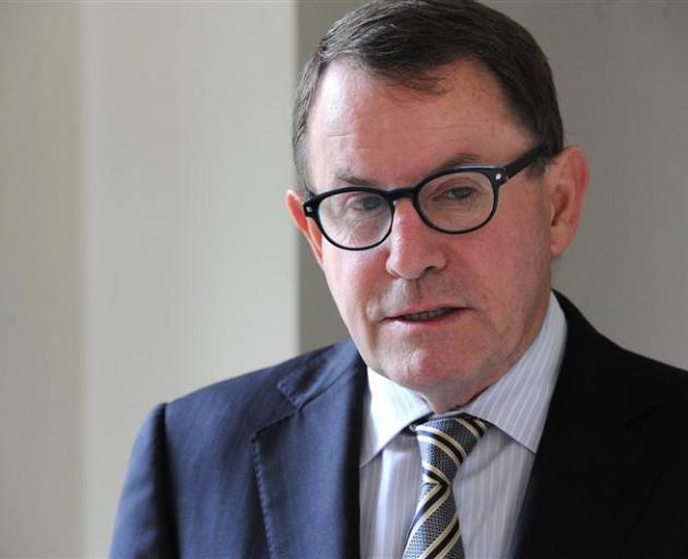 John Banks apologised on air for his comments. Photo: ODT files
