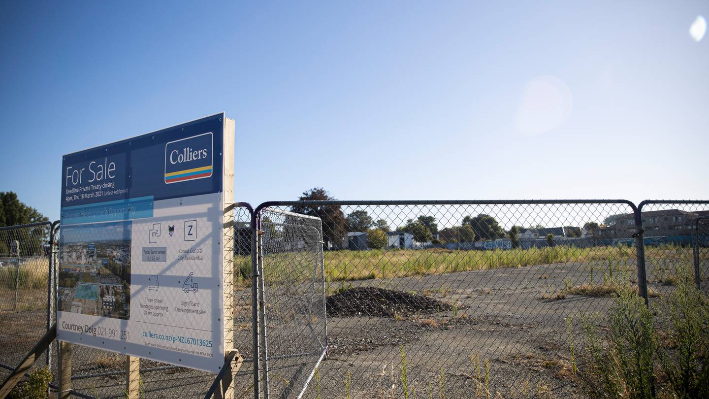 Ōtākaro Ltd has bought a spot of land in the central city. Photo: George Heard