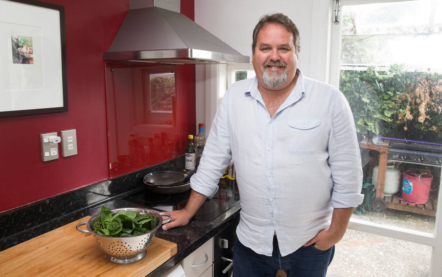 Chef Martin Bosley says current electricity options for cooking on a commercial scale are slow or...
