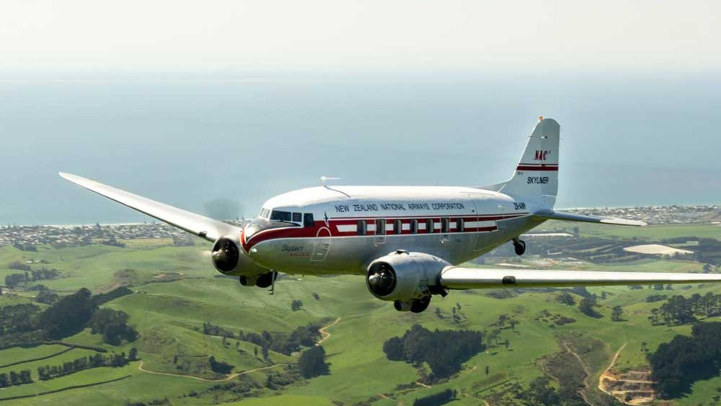 Spend nine days on the vintage wings of the National Airways Corporation icon. Photo: Supplied