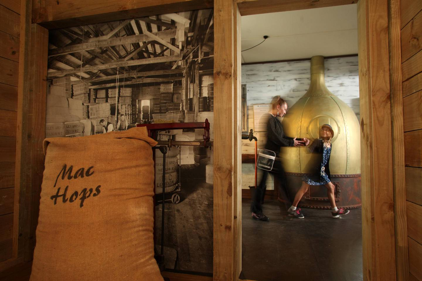 The beer and hops museum at Founders Park. Photo: Supplied via NZH