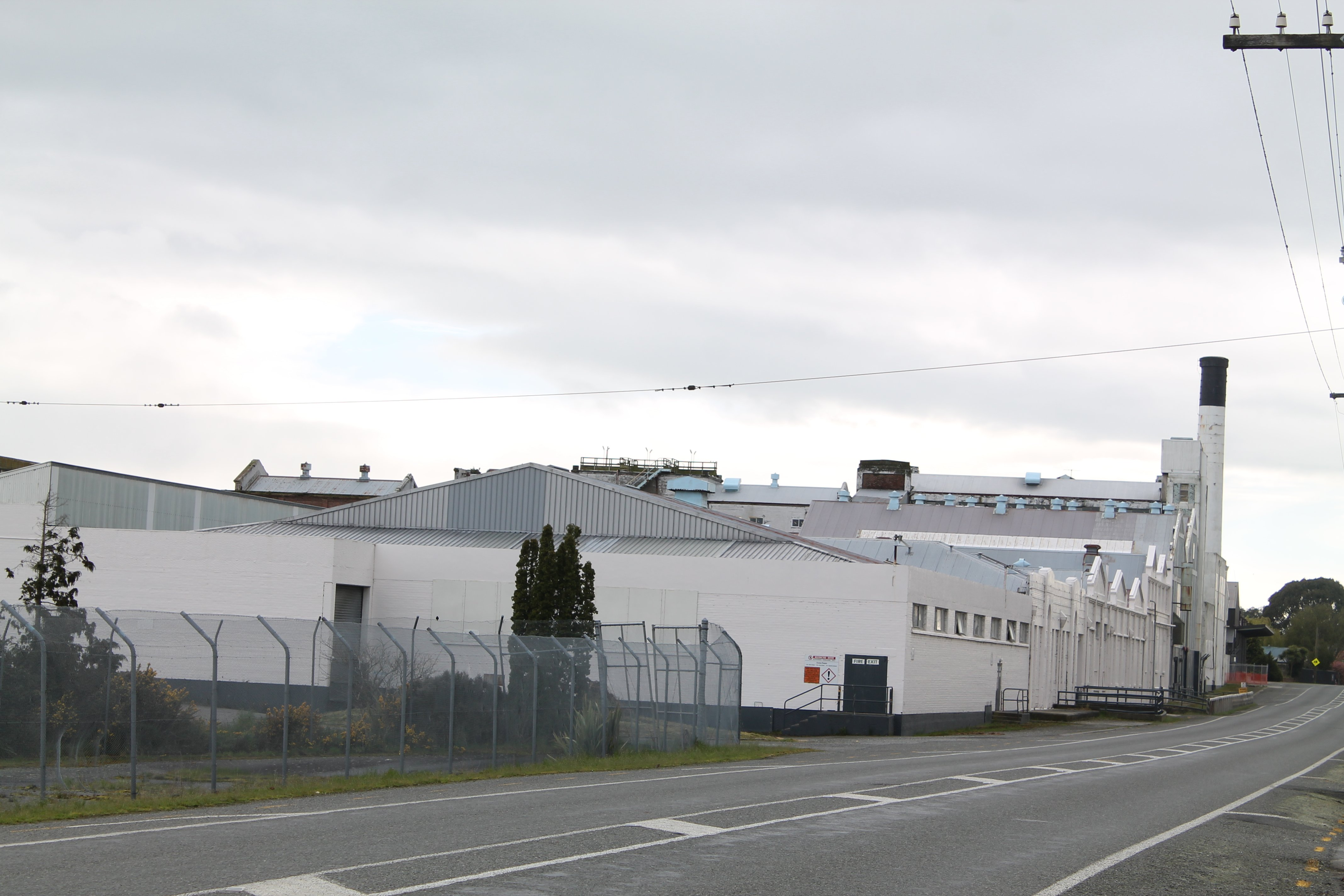 The ouvea premix is being stored at the former Carter Holt Harvey paper mill, located on the...