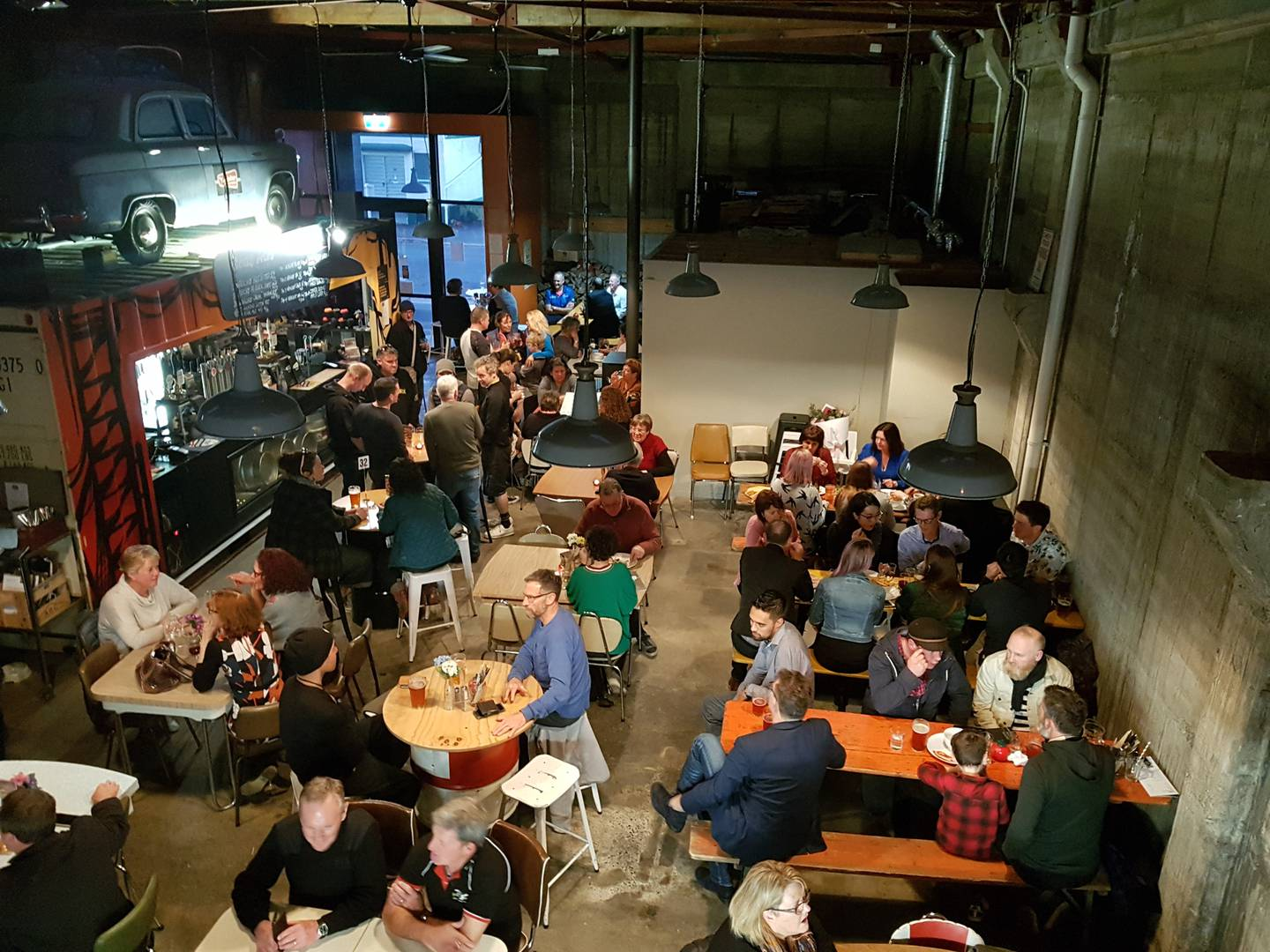 The Workshop Brewery is a great place to down tools Photo: Louis Jerard via NZH