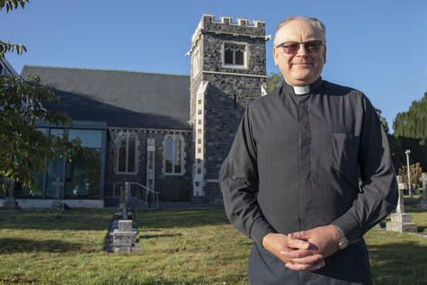 A decade after the earthquakes, Reverend Nick Mountfort is looking forward to St Peter's...
