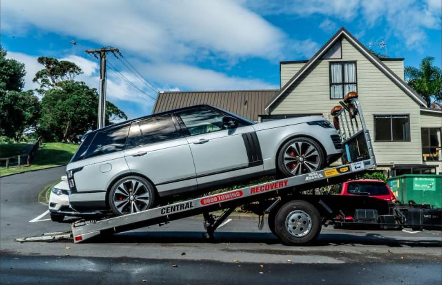 Late-model Range Rovers were among the assets seized in Operation Nova. Photo: Supplied