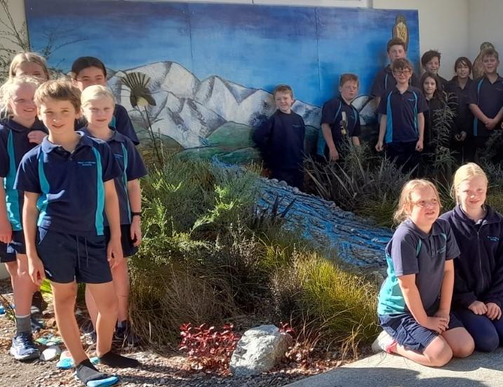 West Eyreton School pupils. Photo: Supplied