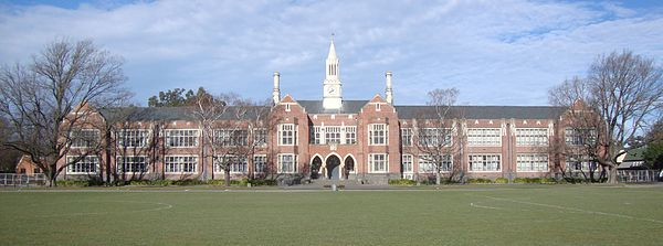 Christchurch Boys' High School. Photo: Supplied