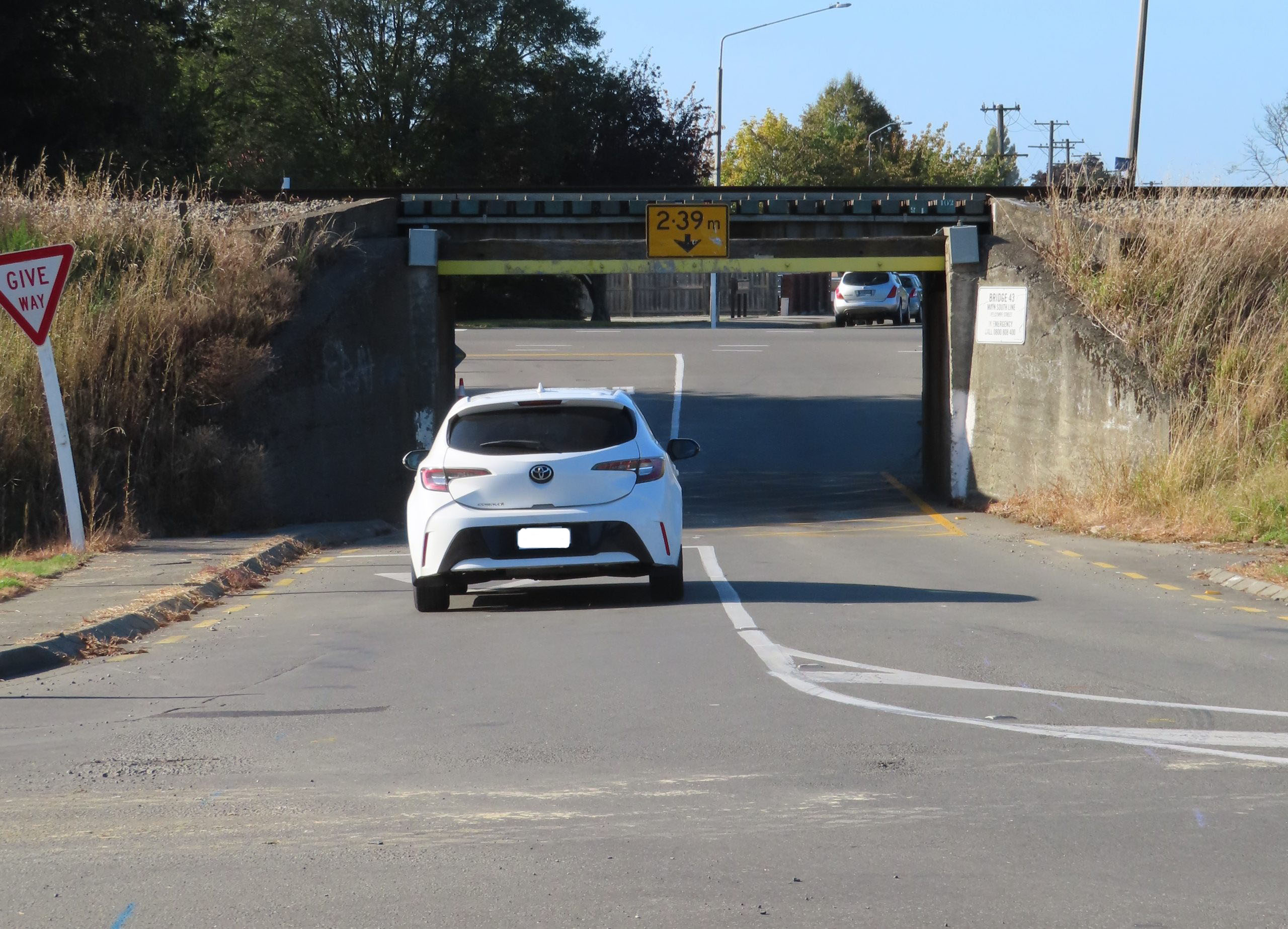 Changes are coming for traffic using the Tinwald viaduct. Photo: Ashburton Courier
