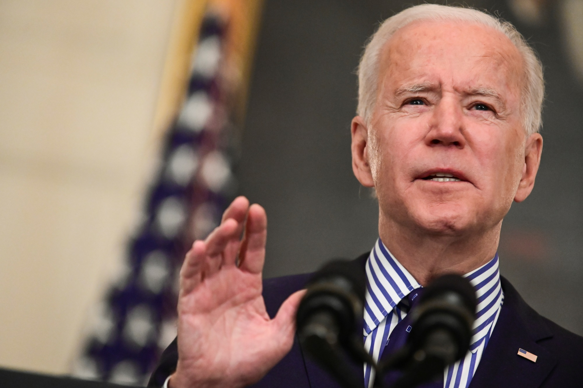 President Joe Biden says the bill will provide financial relief for many struggling Americans....