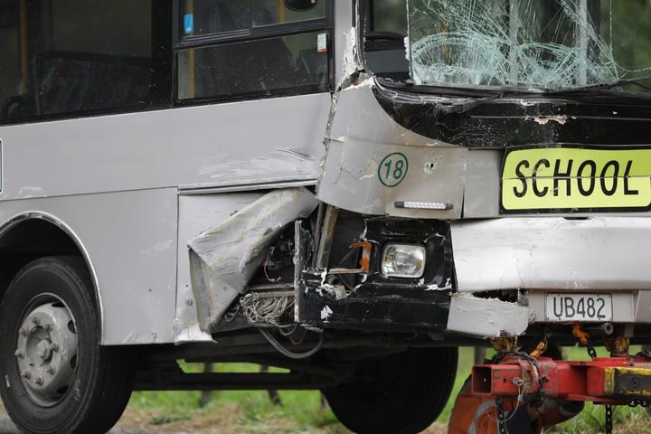Multiple people were injured in an Otamatea High School bus crash in Northland on October 30 last...