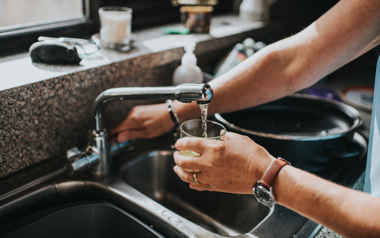 Water drinking tap Getty