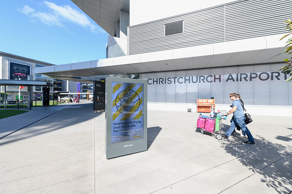 Christchurch Airport. Photo: Getty Images