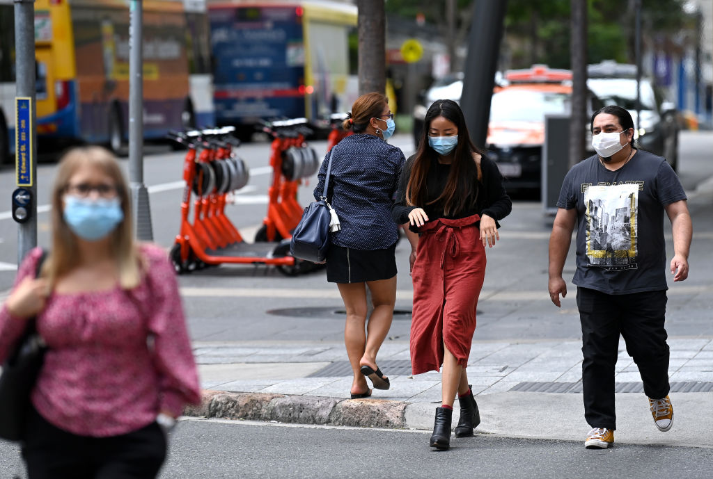 Greater Brisbane declared Covid hotspot