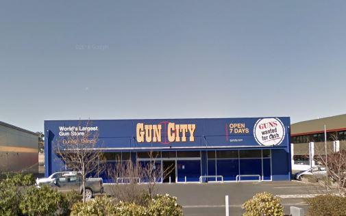 Gun City Dunedin. Photo: Google