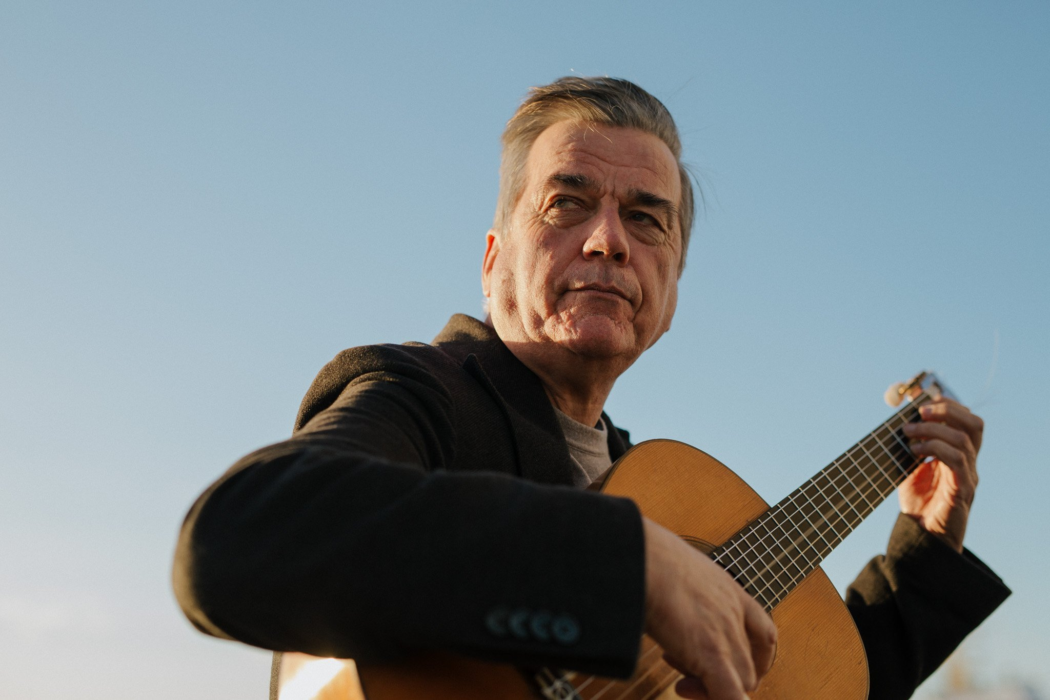 Former television journalist Ian Sinclair has a not-so-secret lifelong passion for the flamenco...