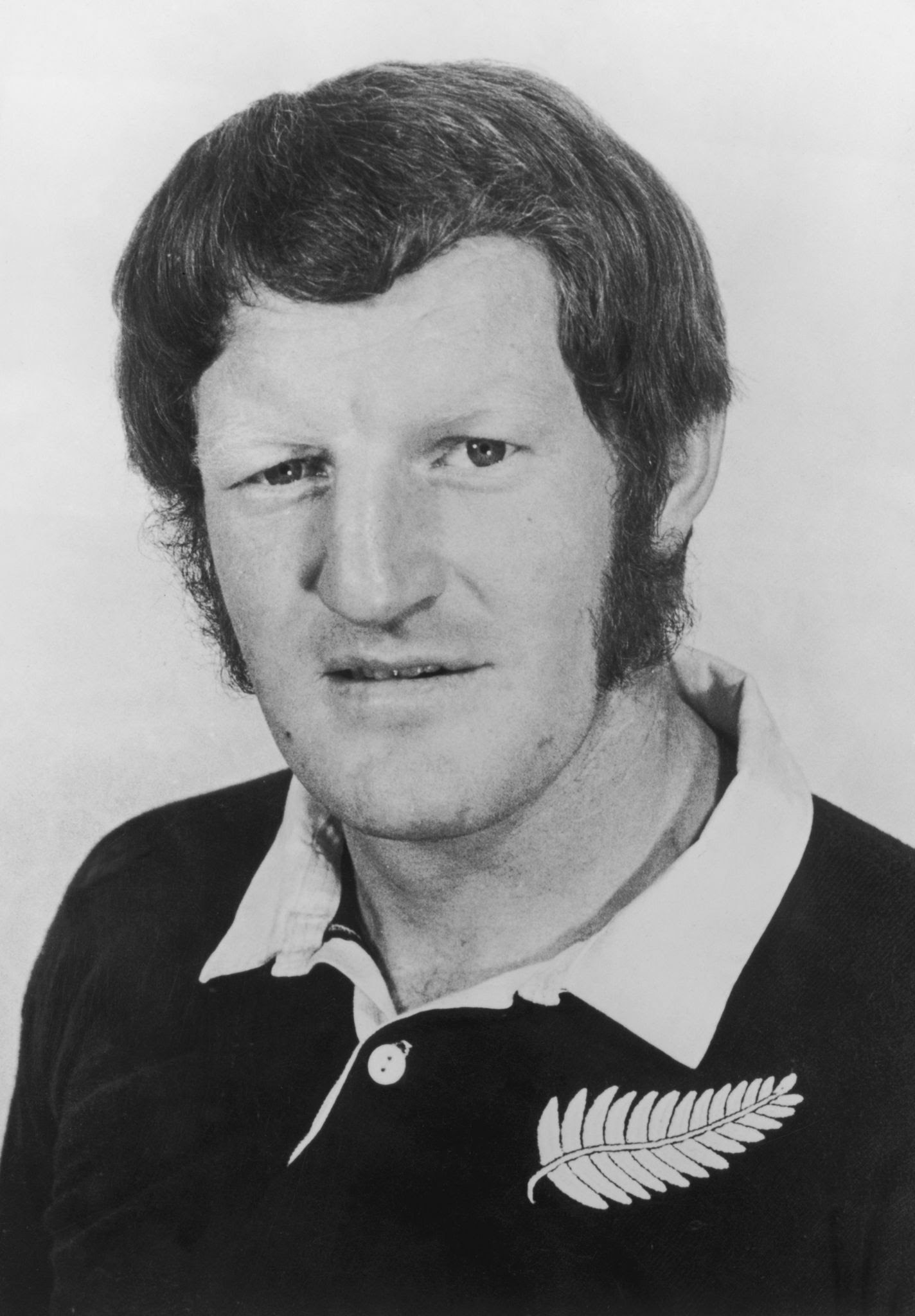 Grizz Wyllie before the All Blacks tour of Britain in October 1972. Photo: Central Press / Hulton...