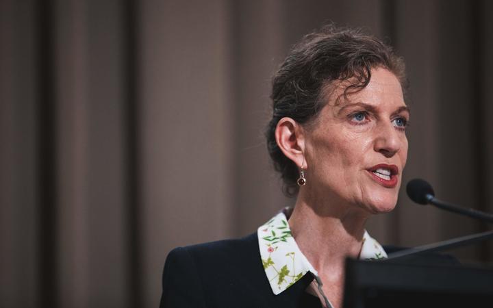 NZ Security Intelligence Service director Rebecca Kitteridge. Photo: RNZ