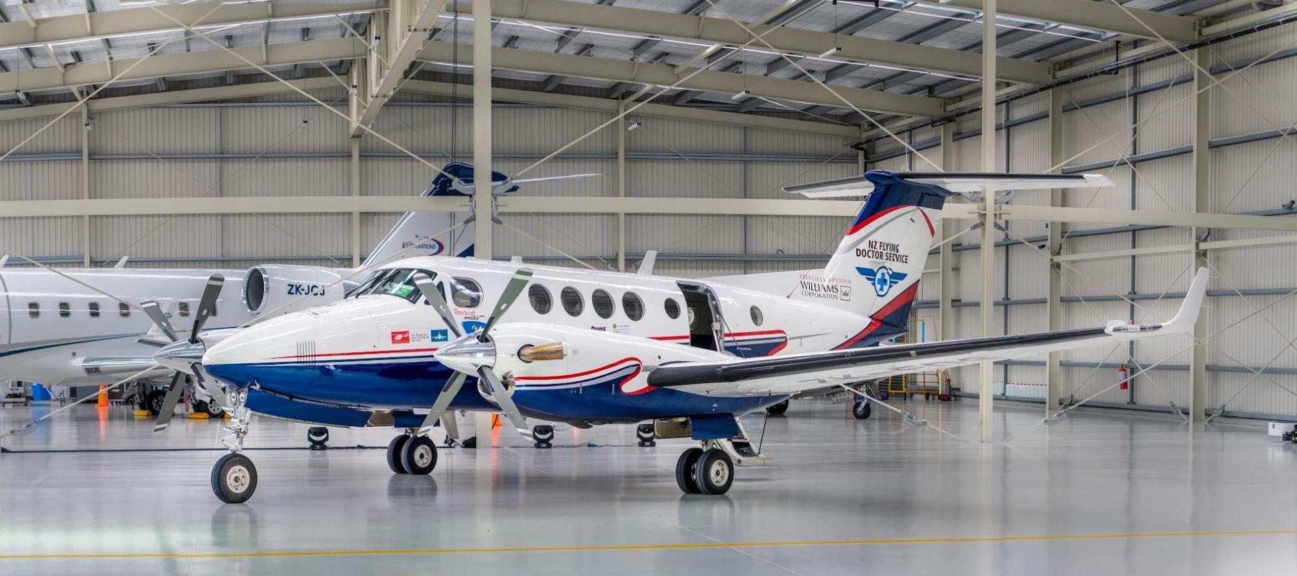 The NZFD plane. Photo: Williams Corporation / NZDF
