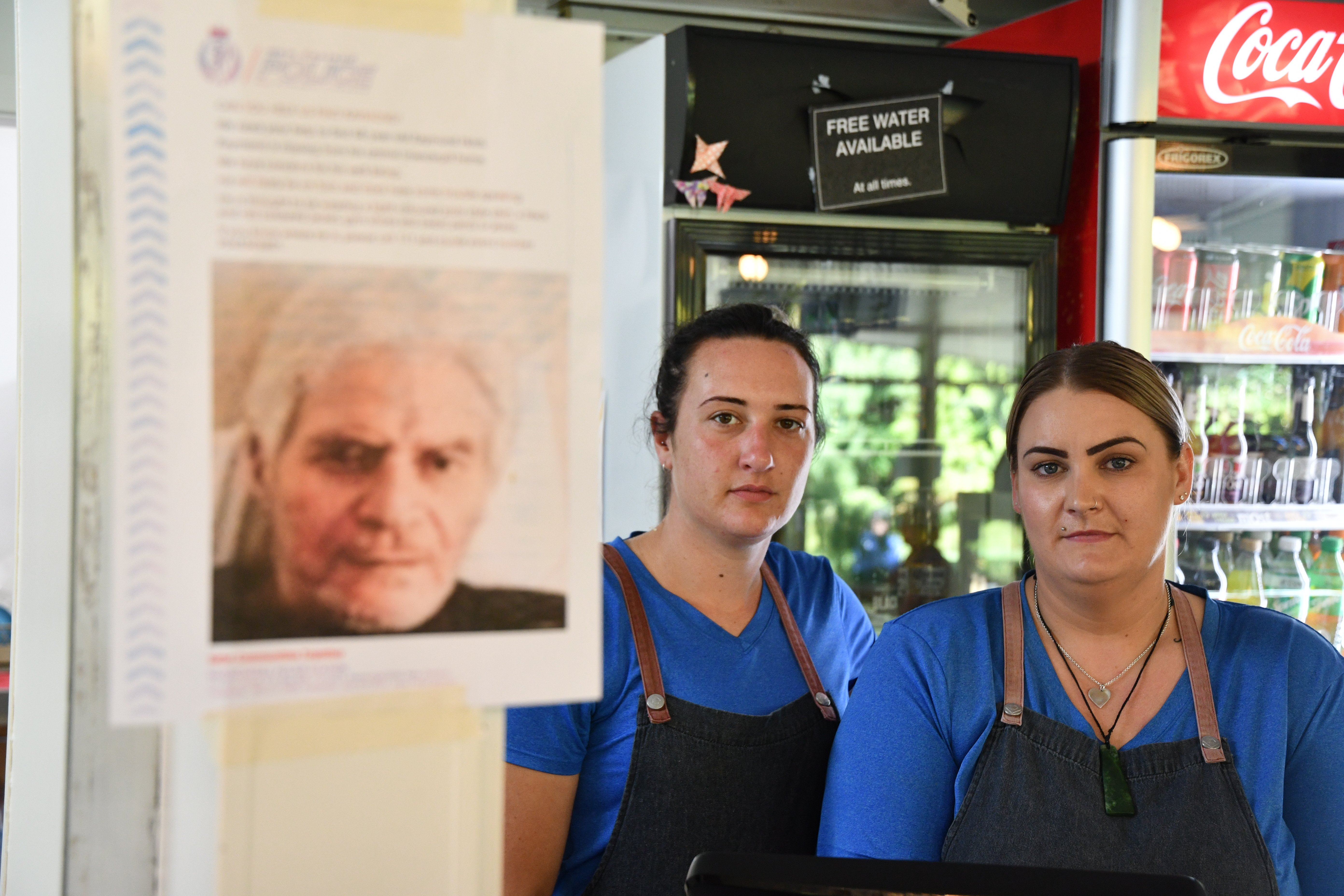 Cheeky Llama Cafe staff Toni Gorton (left) and Gemma Le Vaillant say most people are aware...