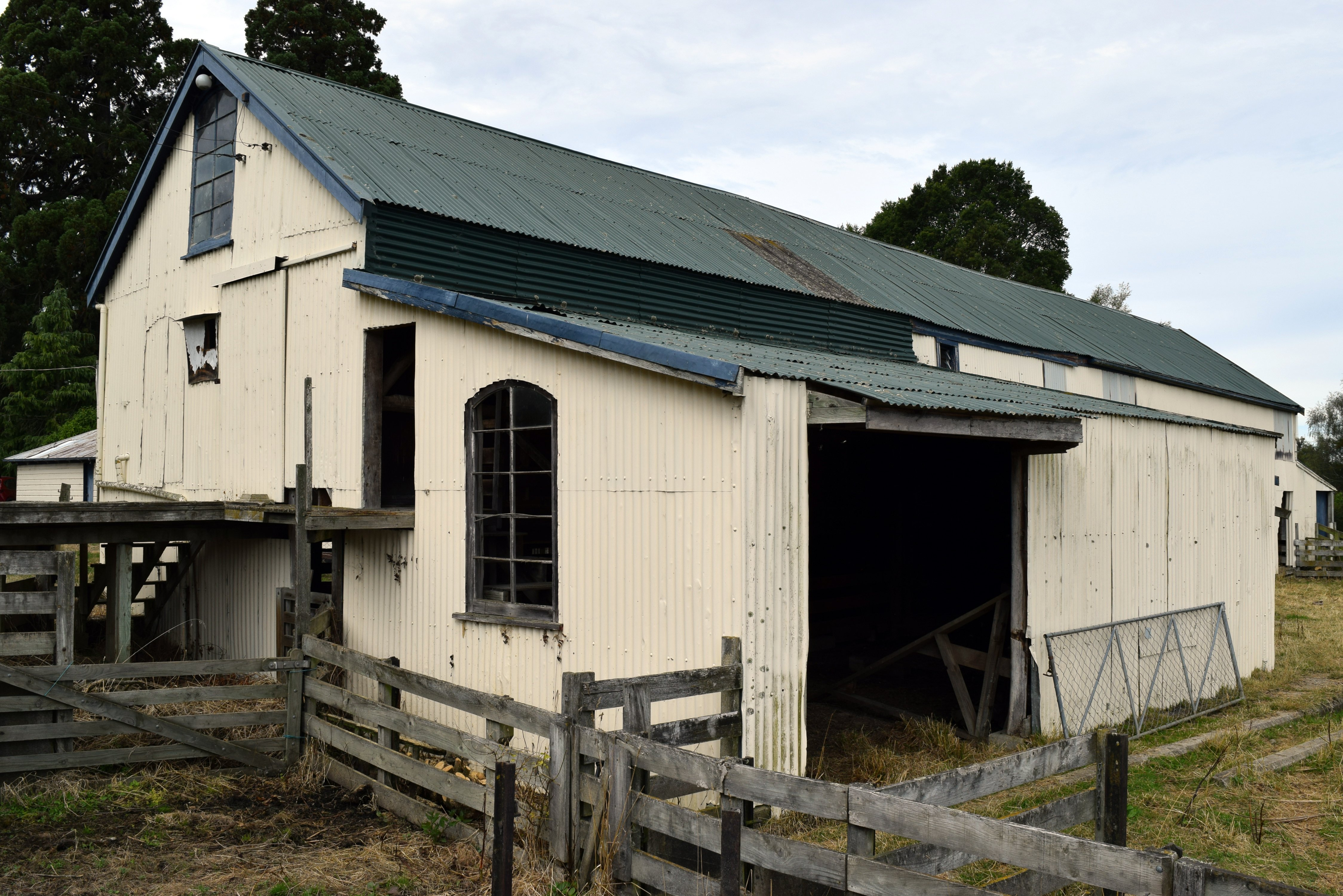 The woolshed on Salisbury Estate in North Taieri. Photo: Shawn McAvinue