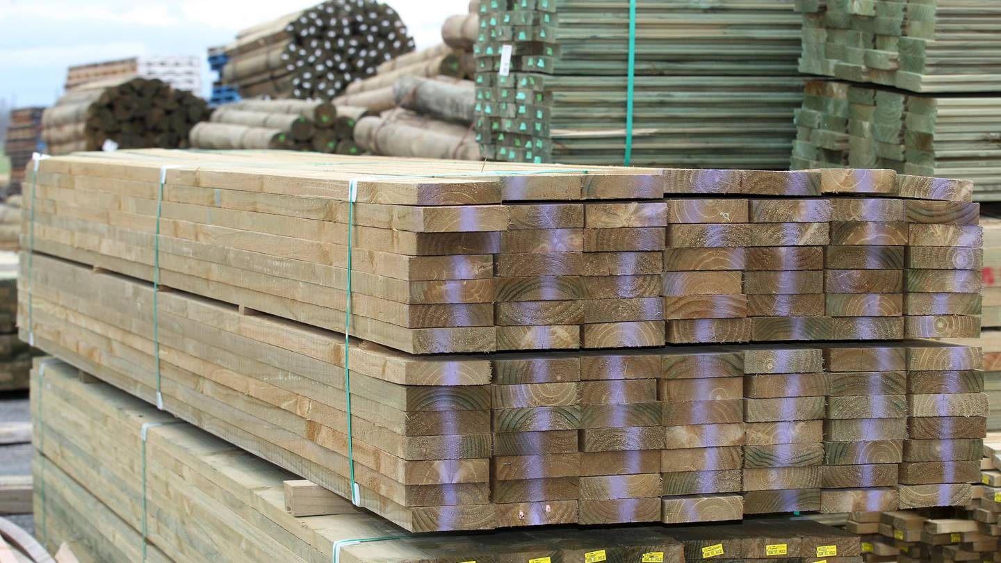 Carter Holt Harvey's decision to cut timber supplies for three hardware and building supplies...