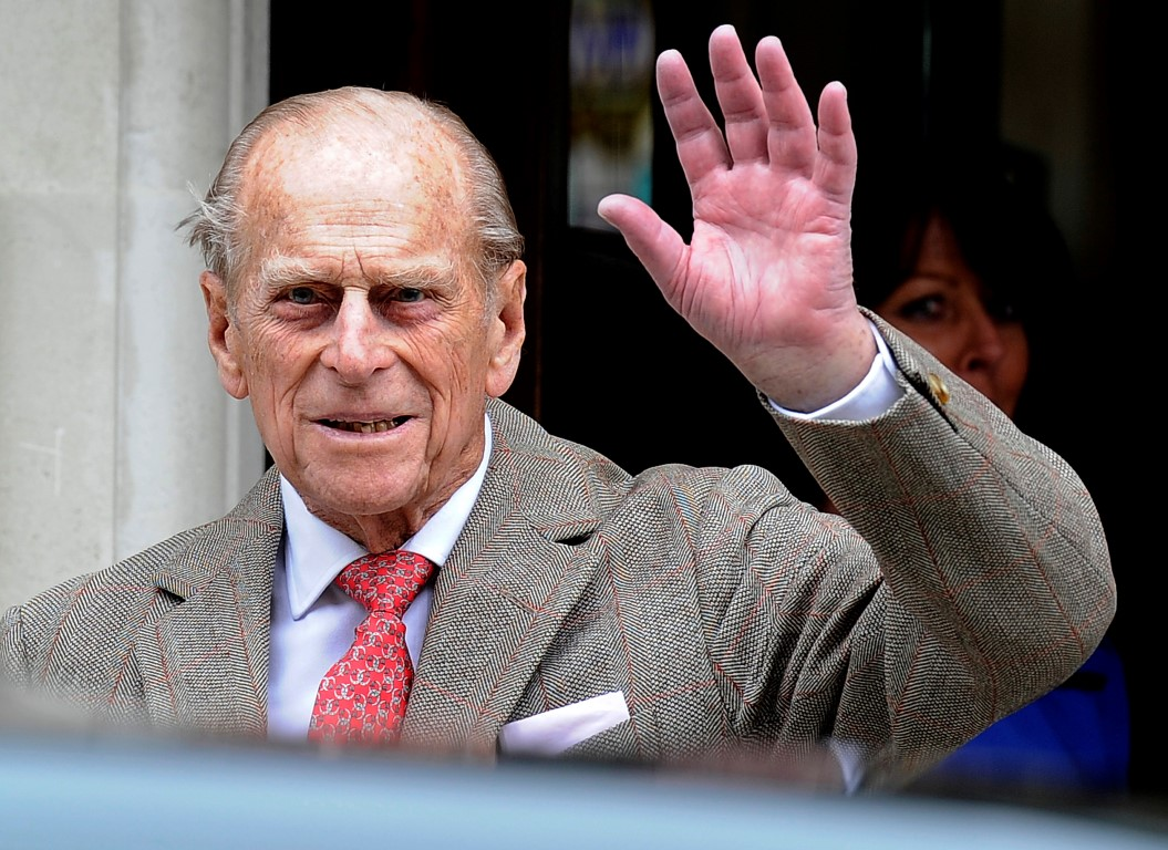 A 41-gun salute is being given in Wellington today to honour Prince Philip. Photo: Reuters