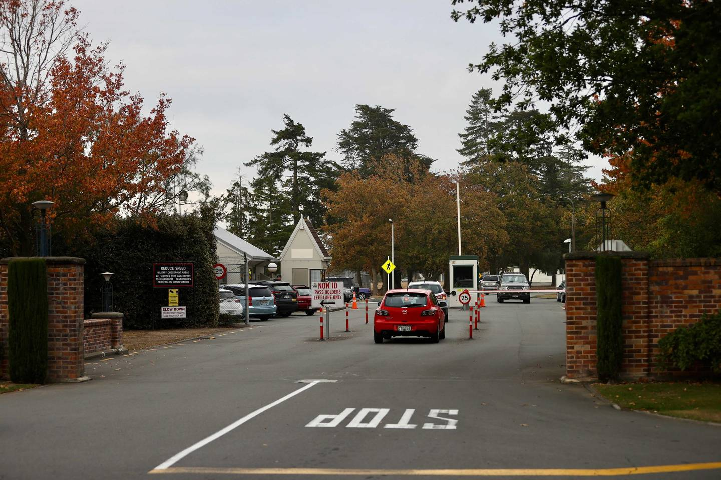 The court martial is being held at Burnham Military Camp outside Christchurch. Photo: George Heard