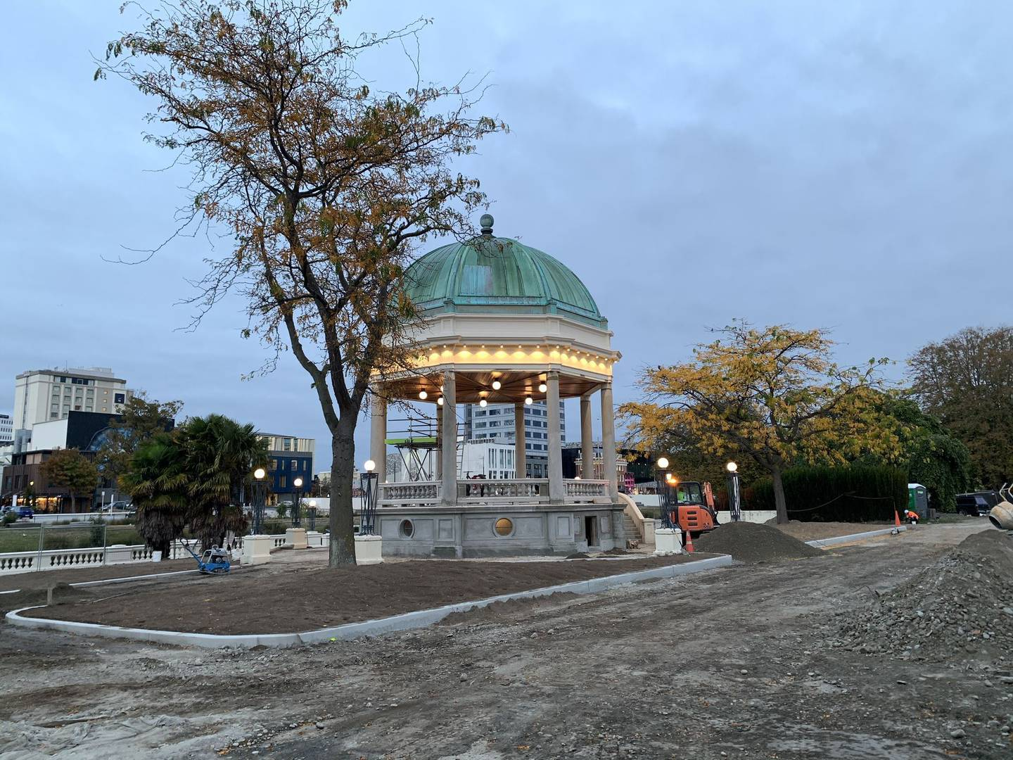Christchurch City Council manager capital delivery community Darren Moses said the rotunda is...