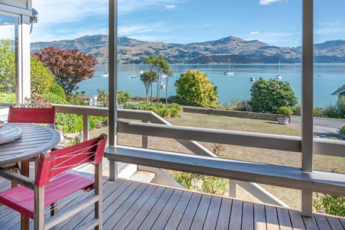 109 Beach Rd in Akaroa sold for $2.13 million this month, almost $1 million above its RV. Photo:...